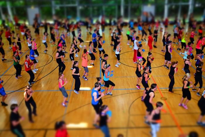 so war es: Internationaler Fitness & Aerobic Event