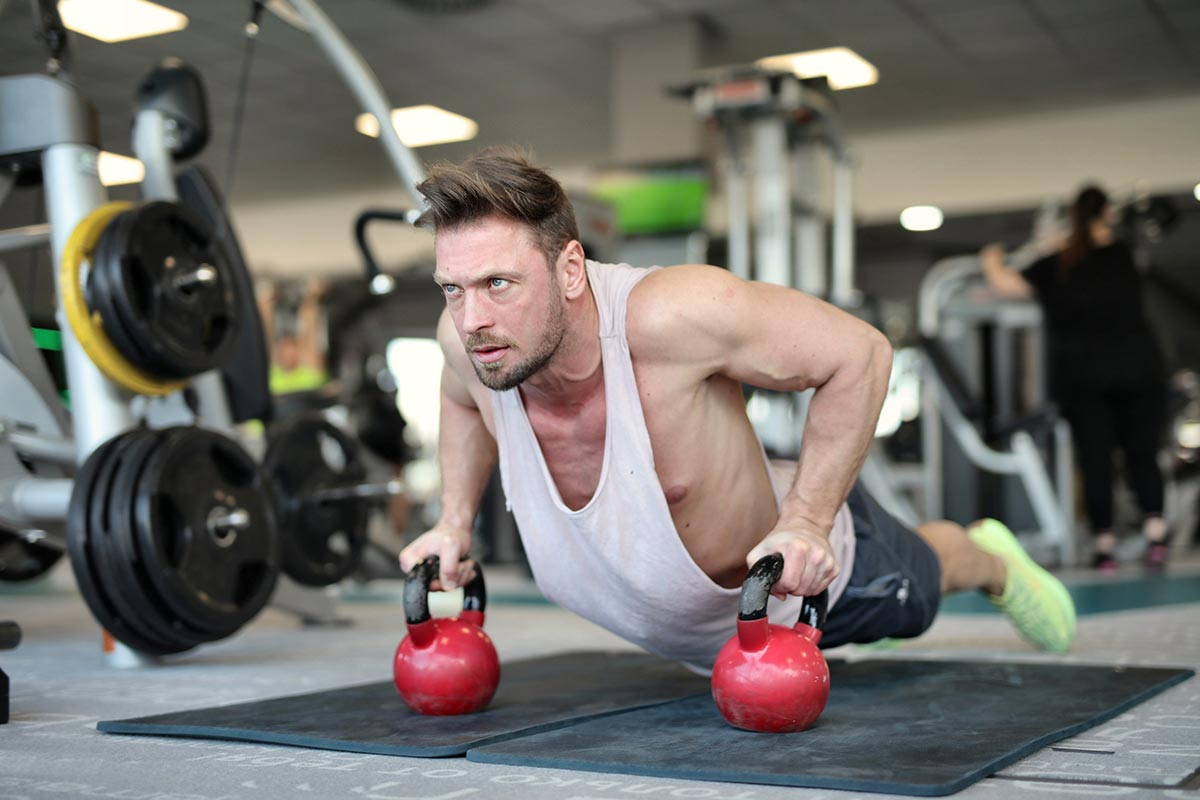 What a Kettlebells Training Circuit Entails