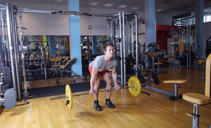Mein Training im Fitnessstudio