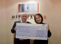 MeridianSpa unterstützt Krebsstiftung