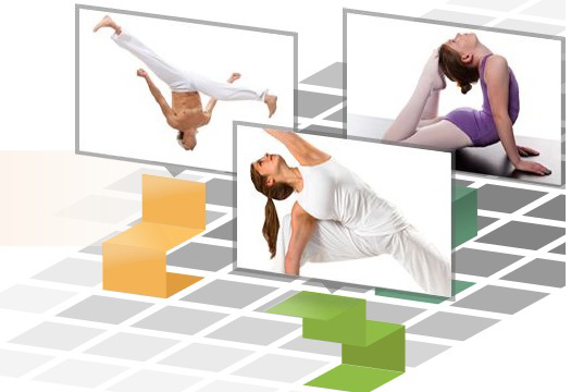 Terminplanung für Pilatesstudios und Yoga
