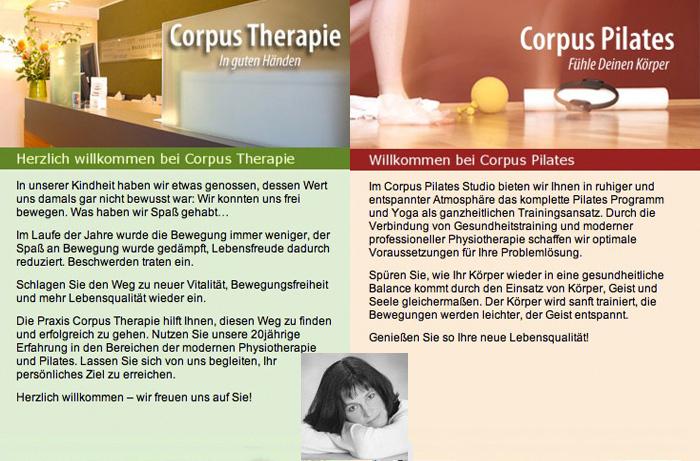 Pilates in der Physiotherapie: Corpus Therapie und Corpus Pilates in Düsseldorf