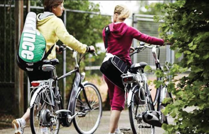 Sportlich mit dem E-Bike unterwegs