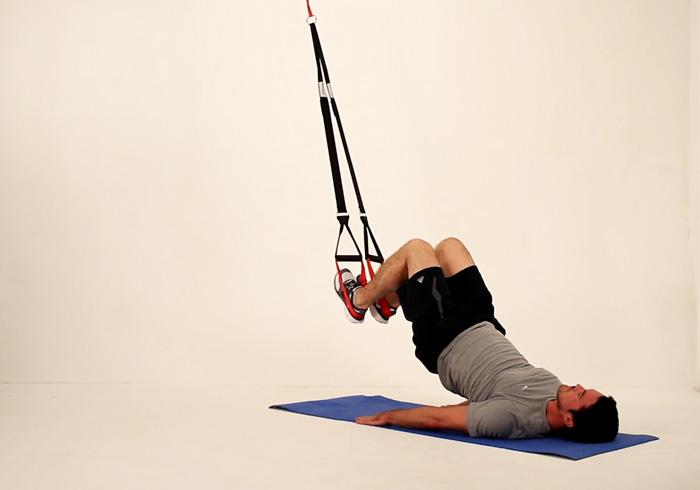 Muskelaufbau durch Suspension Training