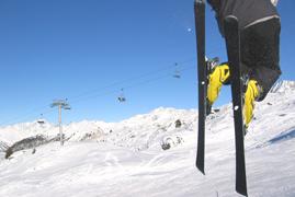 Fitness-Übungen für Skifahrer