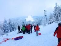 Skifahren auf der Schwarzwaldhochstraße