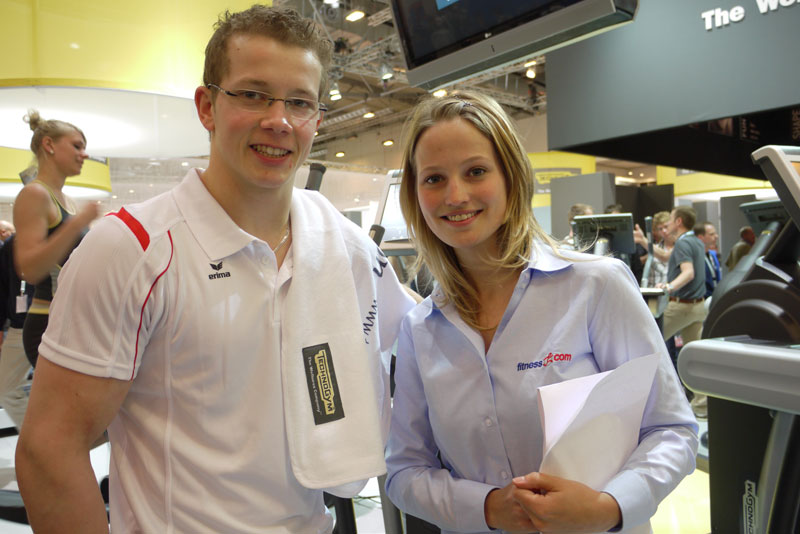 Entrevista con Fabian Hambüchen en la Fibo2009