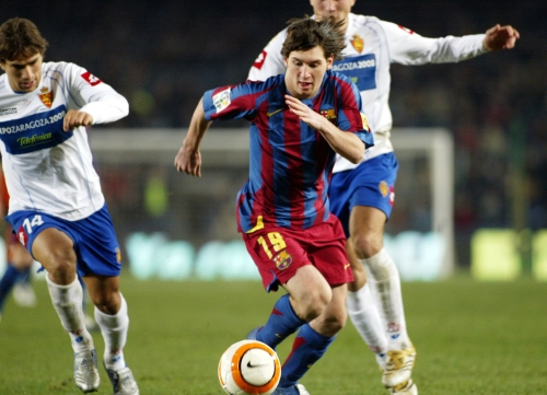 Lionel Messi, el niño prodigio