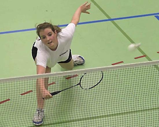 Velocidad y pericia: ¡es el badminton!