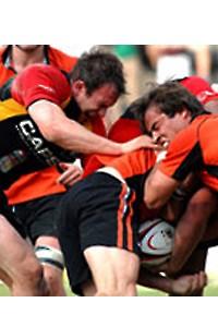 Rugby: la lucha por el huevo