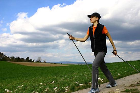 El equipo correcto para Nordic Walking