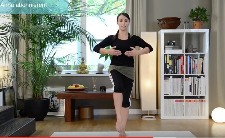 Video: Gleichgewichtsübungen Pilates Einheit für Anfänger