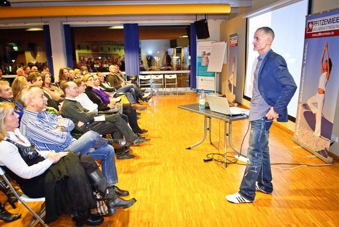 """Vortrag """"Gesundheit, Vitalität & Leistung mit Dr. Arno Schimpf"""