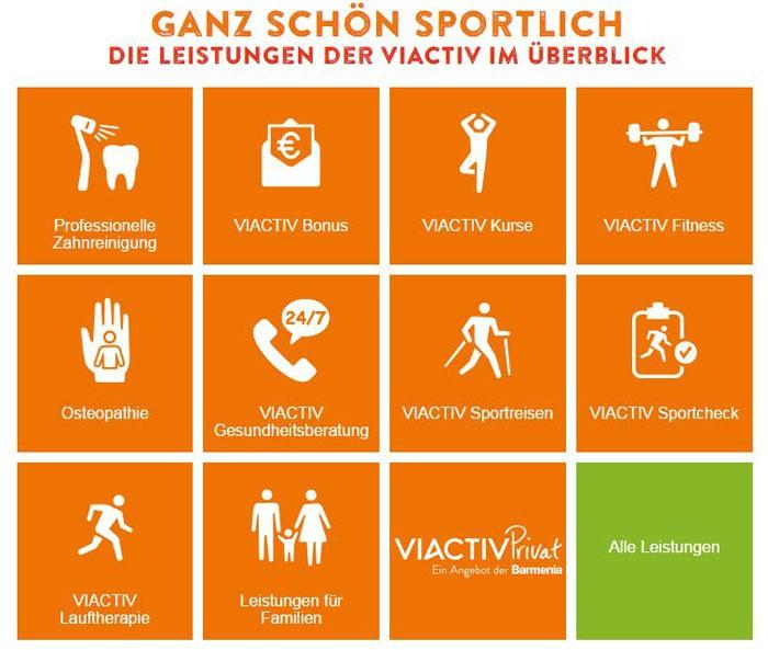 Die VIACTIV Krankenkasse - eine Versicherung für den Sport