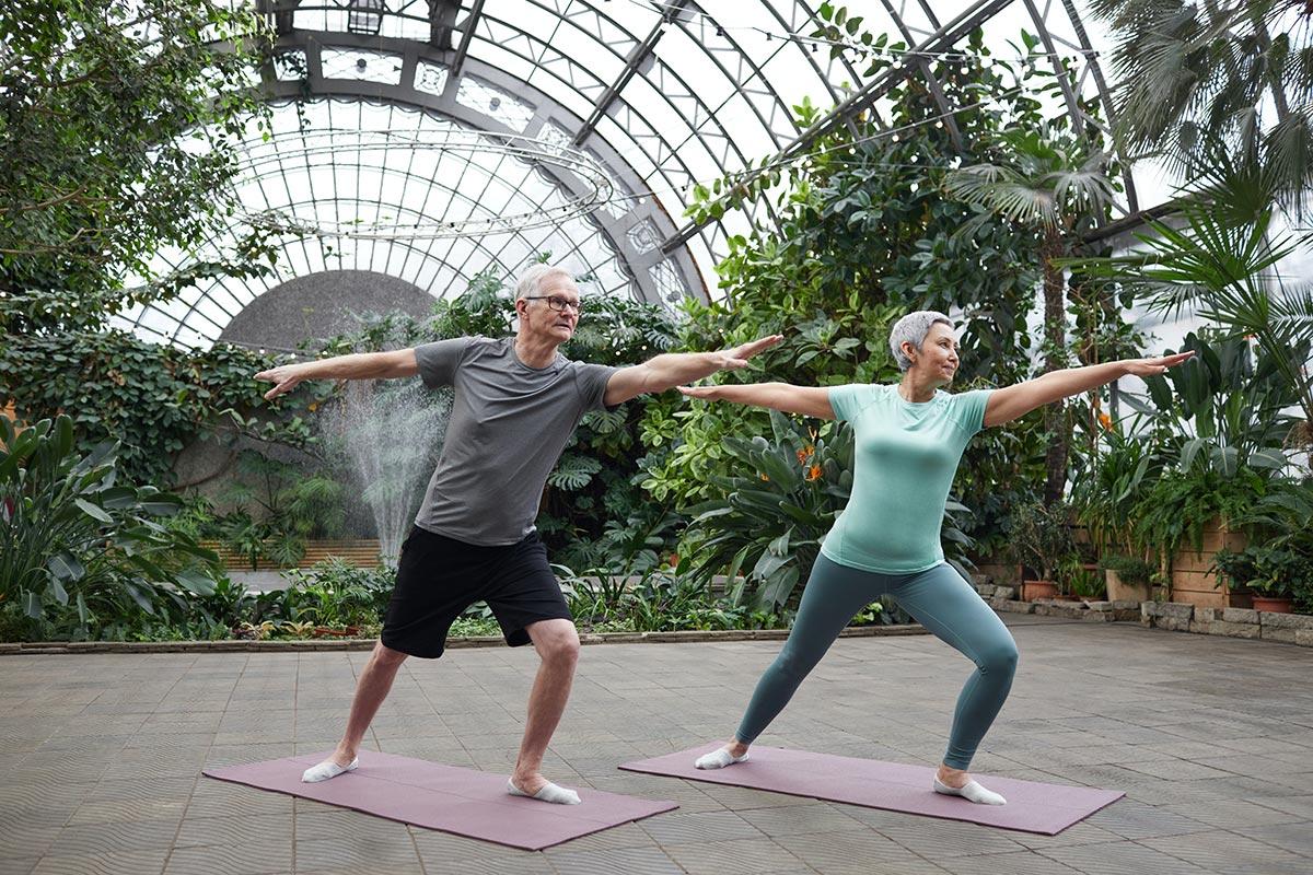 Silver Yoga Improves Fitness in Seniors