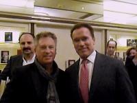 Werner Pfitzenmeier meets Arnold Schwarzenegger