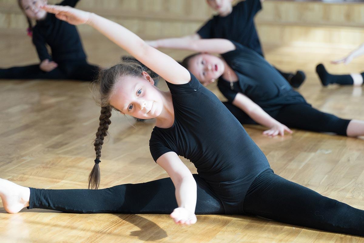 Kinder brauchen Fitness Training