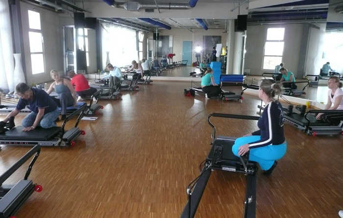 Yoga-, Tanz- und Pilatesstudios