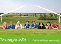 Zeit sich zu bewerben:  Traumjob-WG 2013