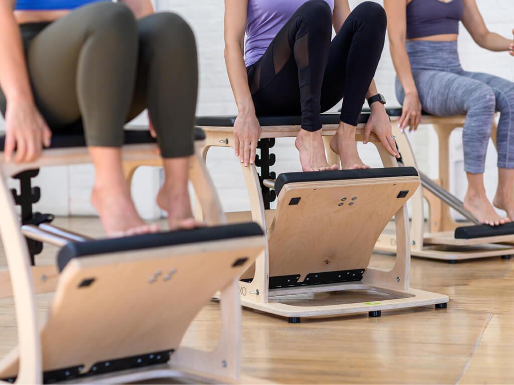 Pilates EXO Chair mit Single Pedal - 1
