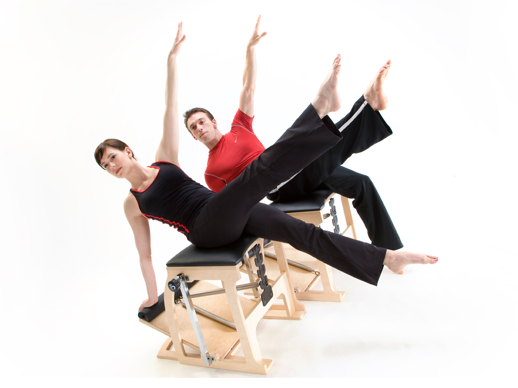 Pilates EXO Chair mit Single Pedal