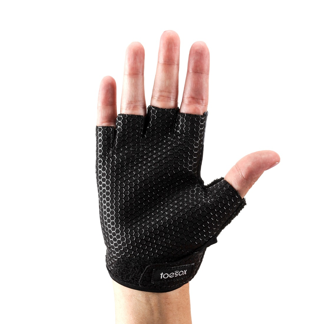 Handschuhe ToeSox Gloves Grip Black - 2
