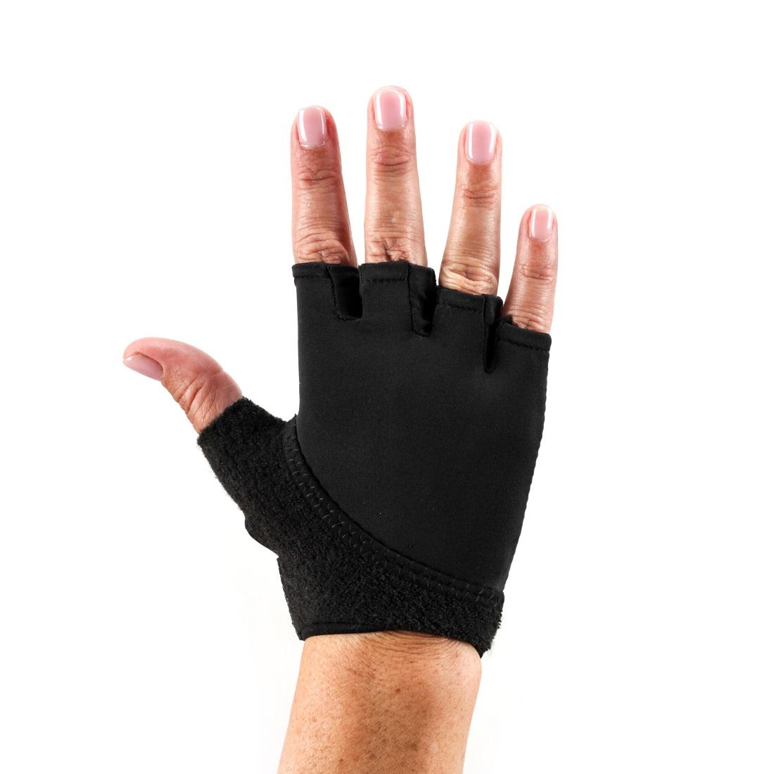 Handschuhe ToeSox Gloves Grip Black - 1