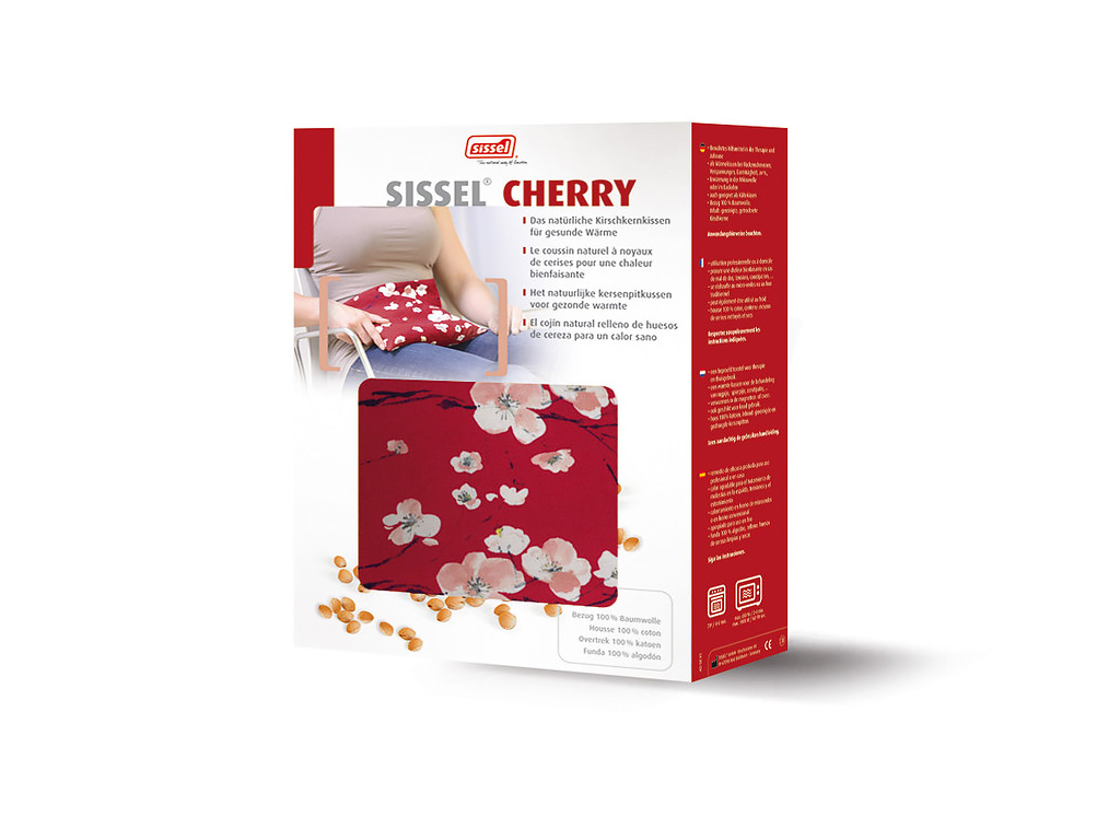 SISSEL® Cherry Kirschkernsäckchen Motiv Kirschen - 1