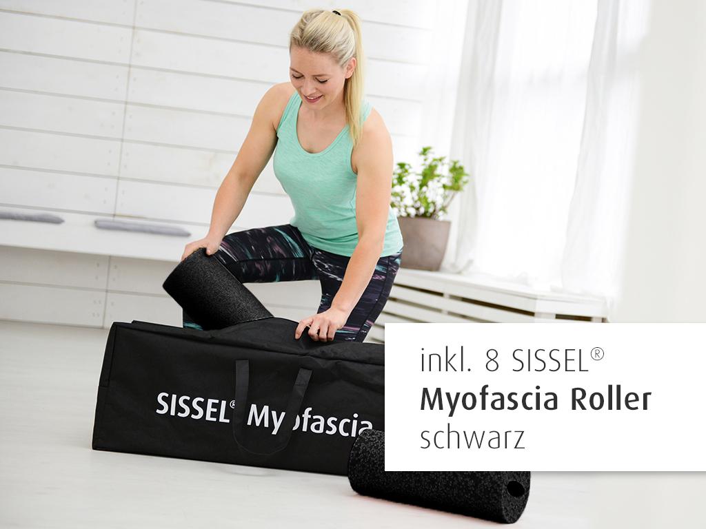 SISSEL® Myofascia Coach Bag inkl. 8 Myofascia Roller