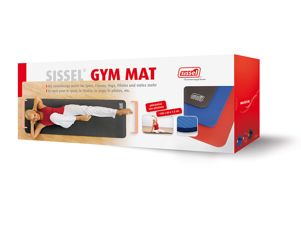 SISSEL® Gym Mat 1.5 cm grün - 2