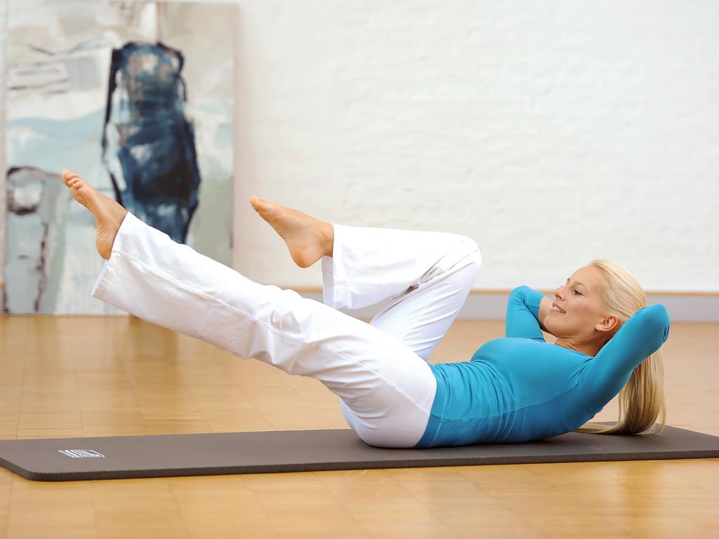 SISSEL® Gym Mat Professional - blau 100 cm breit - 3