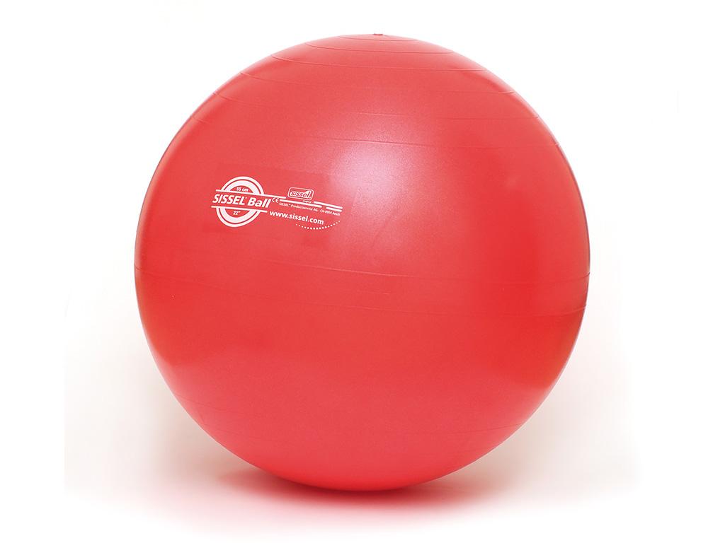 SISSEL® Gymnastikball rot