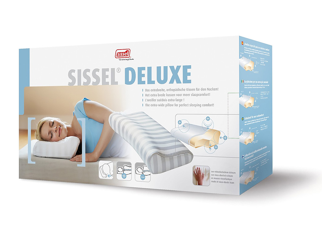 SISSEL Soft Deluxe Nackenkissen - extra breit - 3
