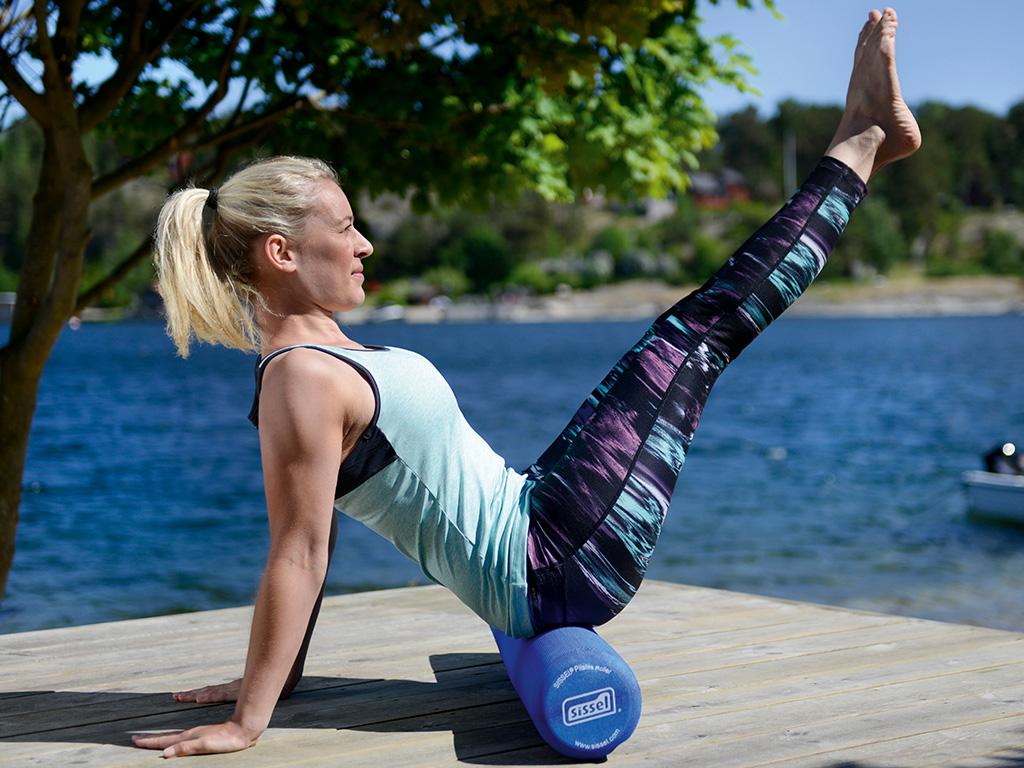 SISSEL® Pilates Roller Pro blau - 2