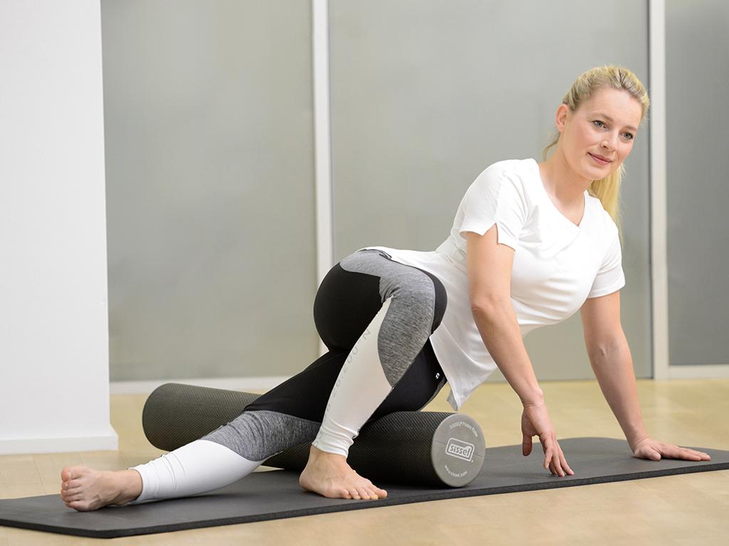 SISSEL® Pilates Roller Pro grau - 2
