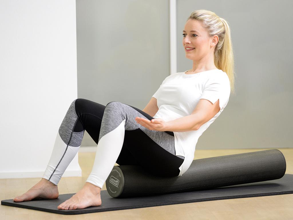 SISSEL® Pilates Roller Pro grau - 4