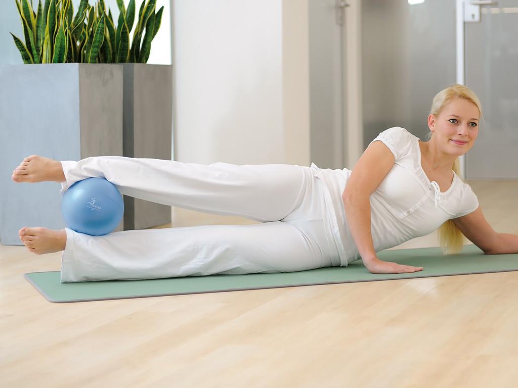 SISSEL® Pilates Soft Ball blau - 1