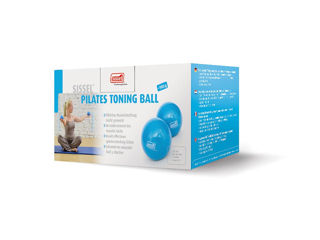 SISSEL® Pilates Toning Ball 900g 2er-Set - 3