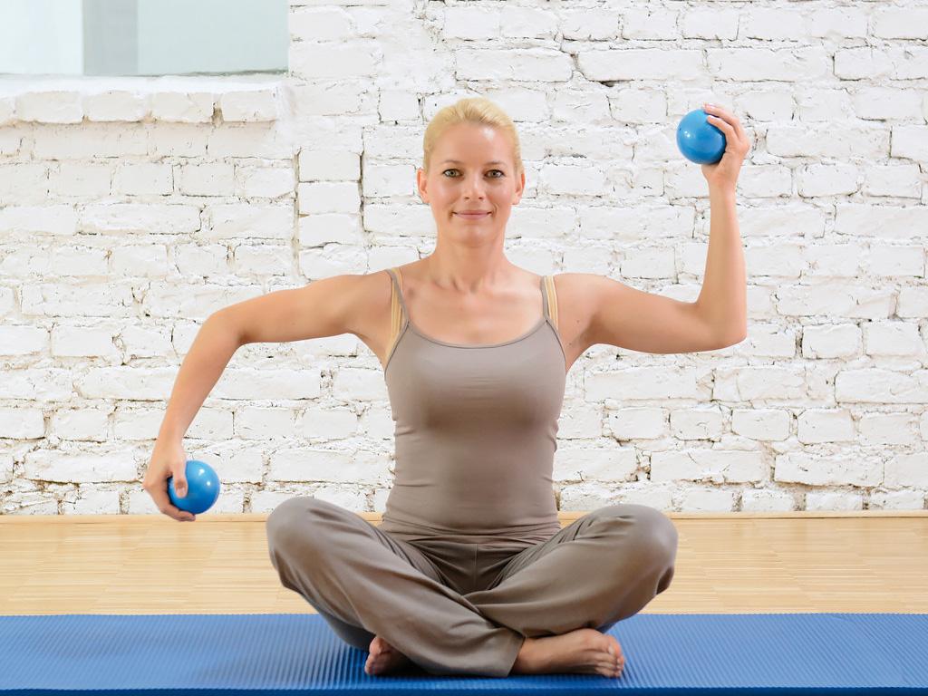 SISSEL® Pilates Toning Ball 900g 2er-Set - 1