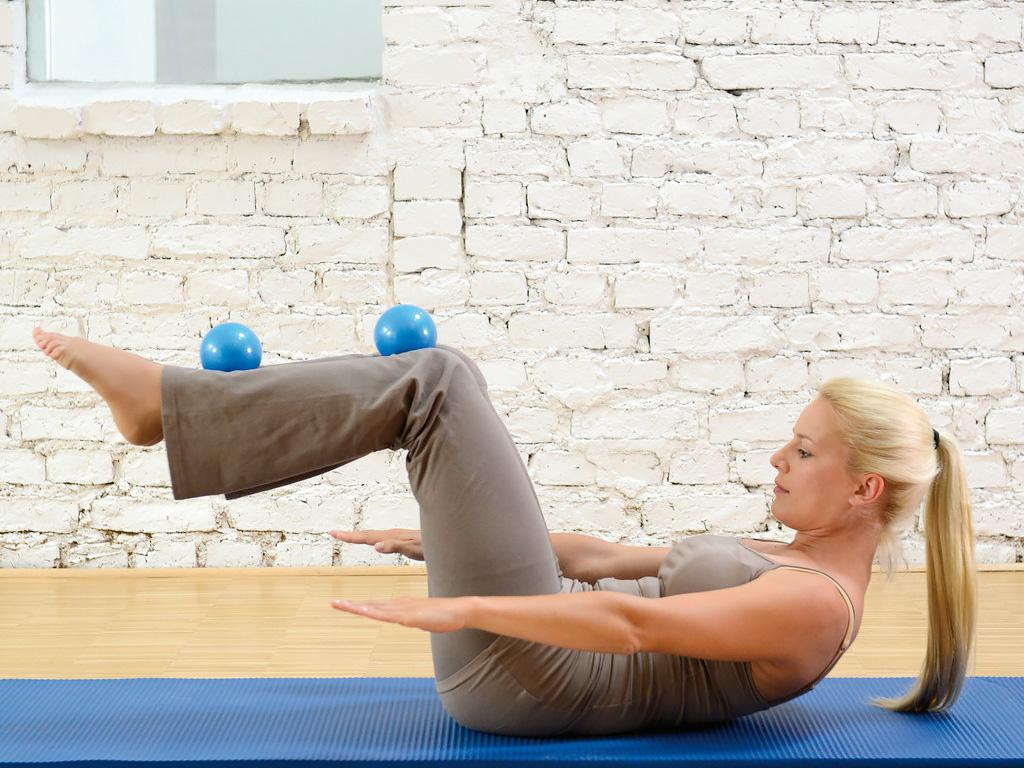 SISSEL® Pilates Toning Ball 900g 2er-Set - 2