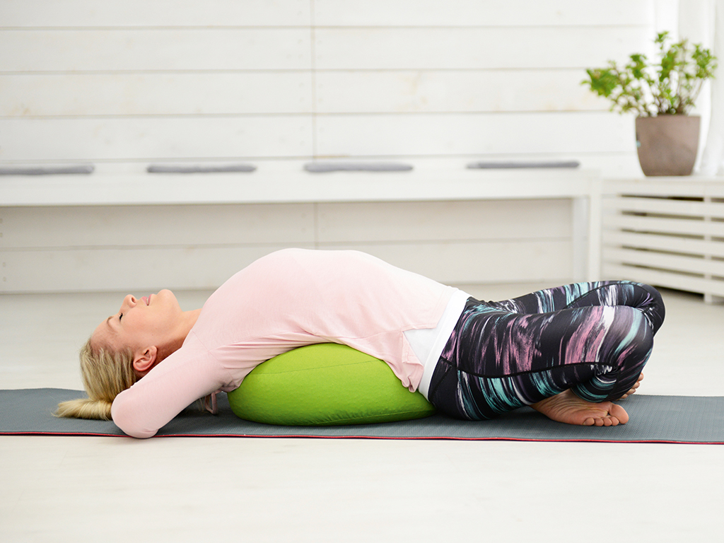SISSEL Yoga Relax Cushion fresh green - 2