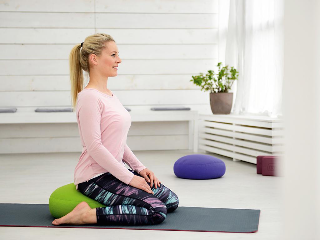 SISSEL Yoga Relax Cushion fresh green - 3
