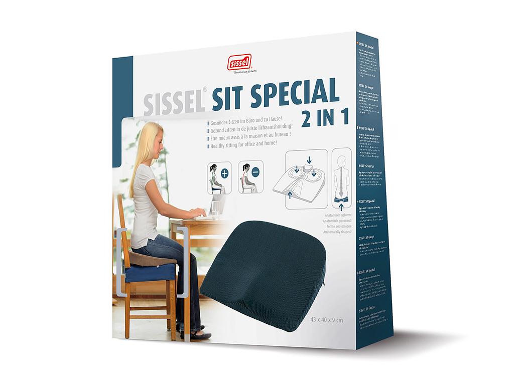 SISSEL® Sit Special Sitzkeil 2 in 1 - 4