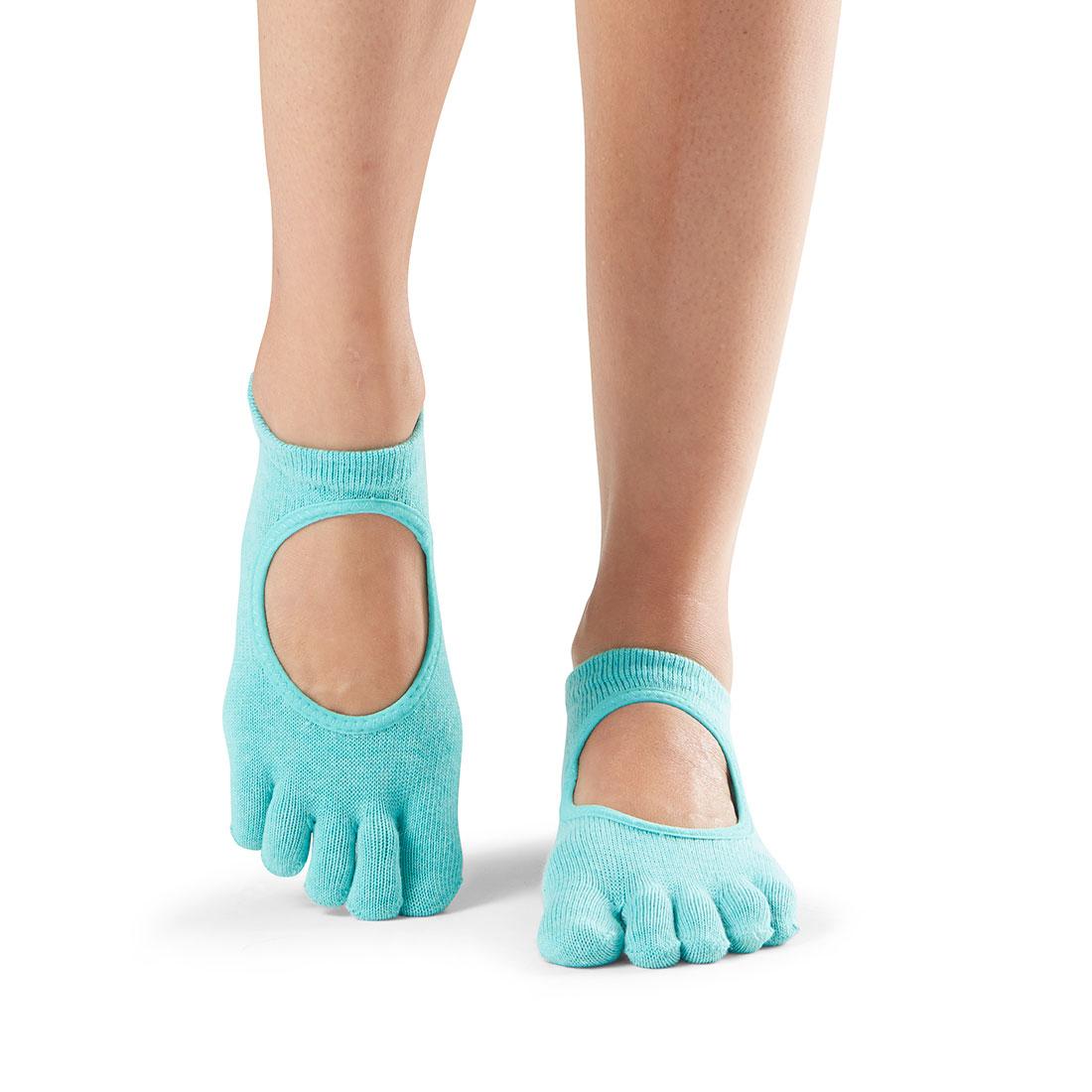 Yogasocken ToeSox Bellarina Full Toe Aqua - 1