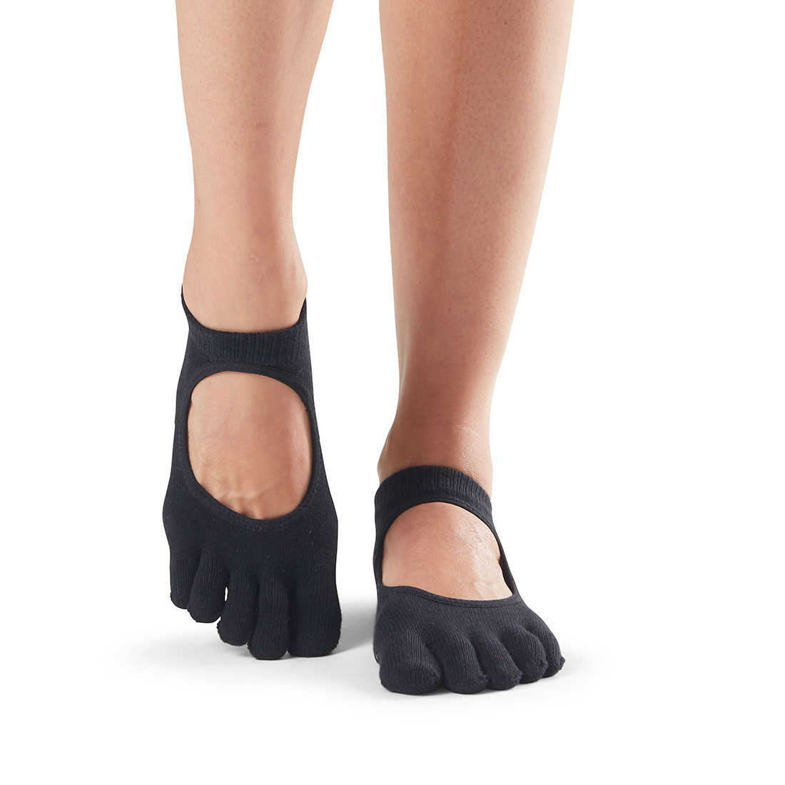 Yogasocken ToeSox Bellarina Full Toe Black - 1