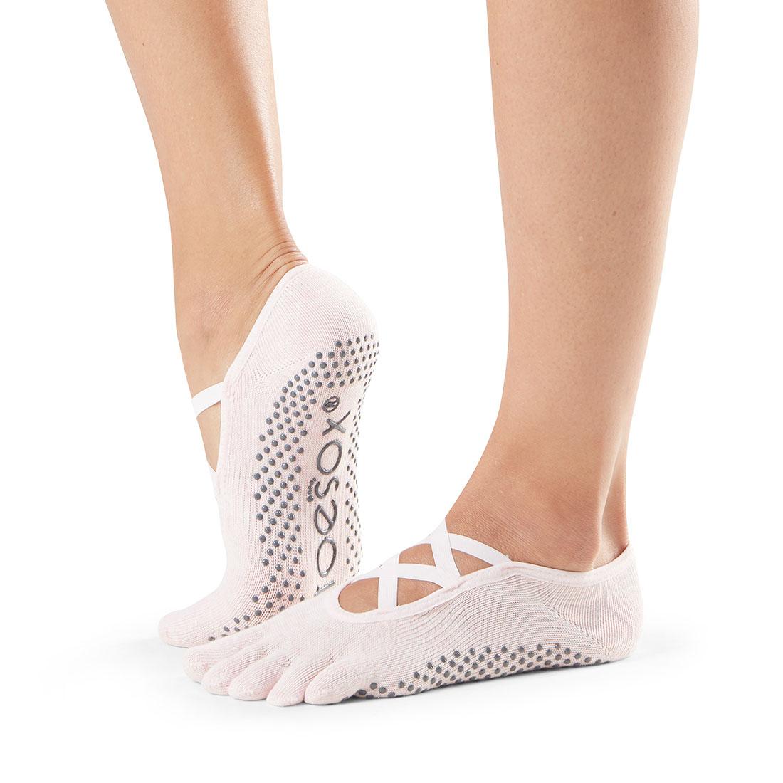 Yogasocken ToeSox Elle Full Toe Pink