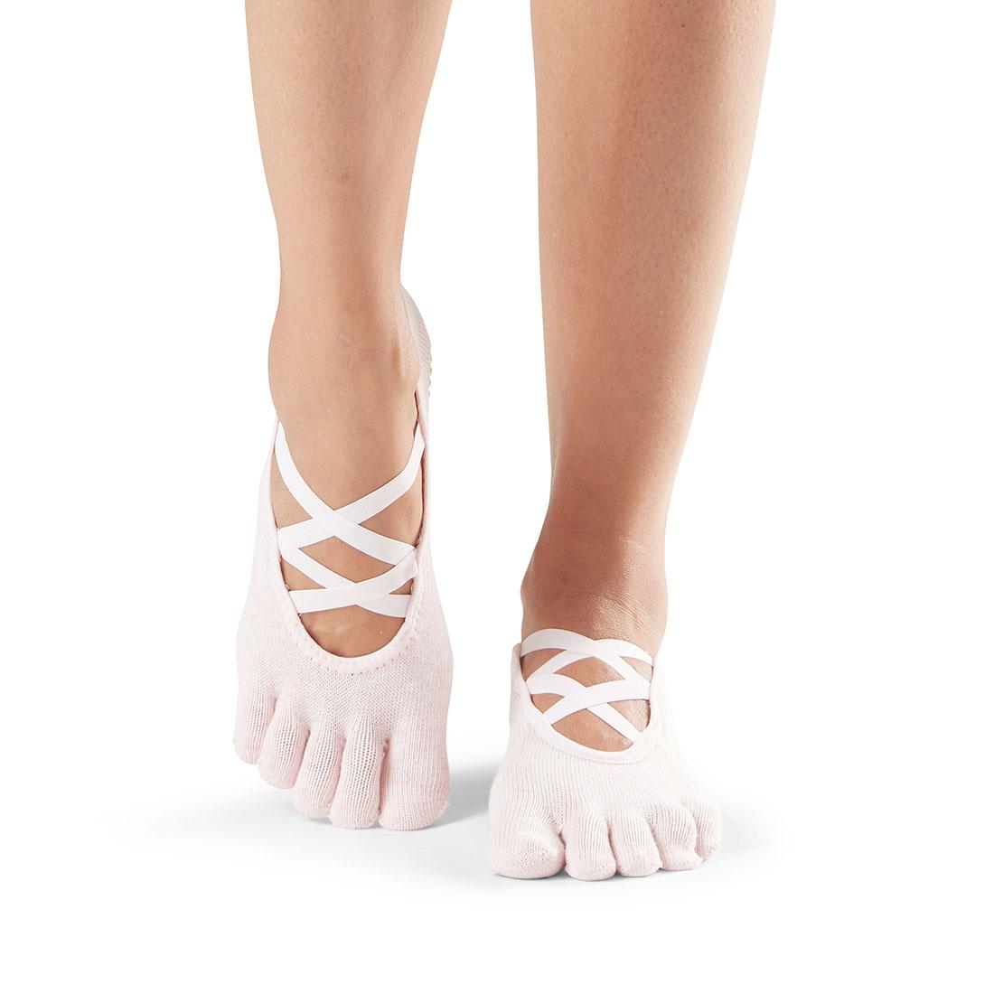 Yogasocken ToeSox Elle Full Toe Pink - 1