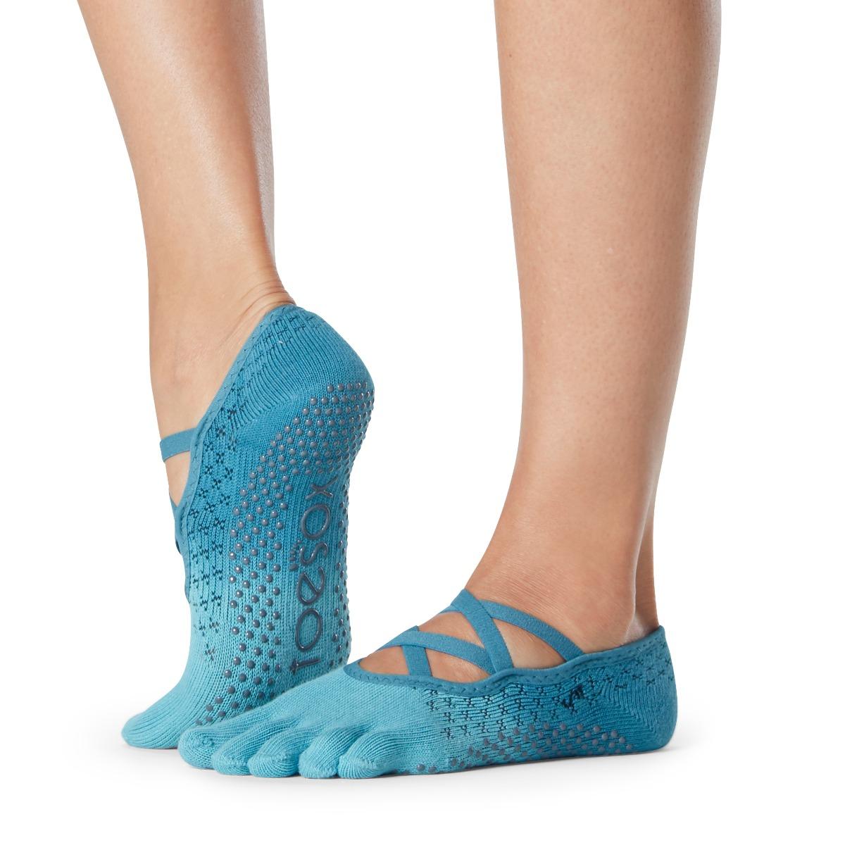 Yogasocken ToeSox Elle Full Toe Glacial