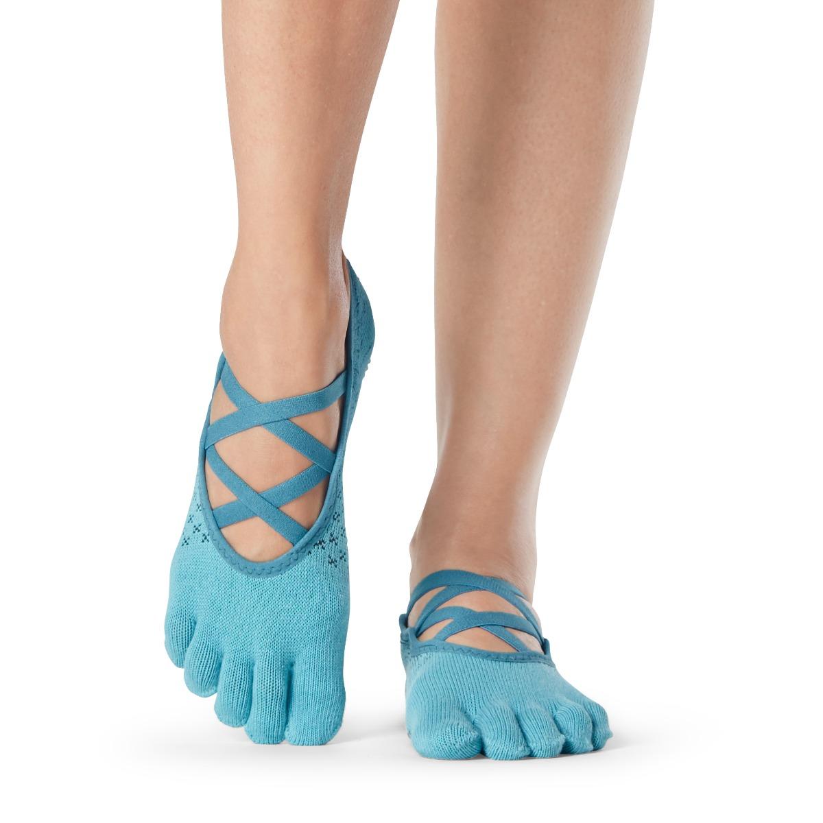 Yogasocken ToeSox Elle Full Toe Glacial - 1