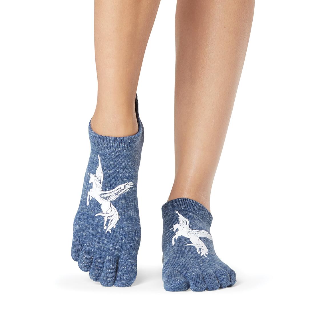 Yogasocken ToeSox Low Rise Full Toe Pegasus - 1